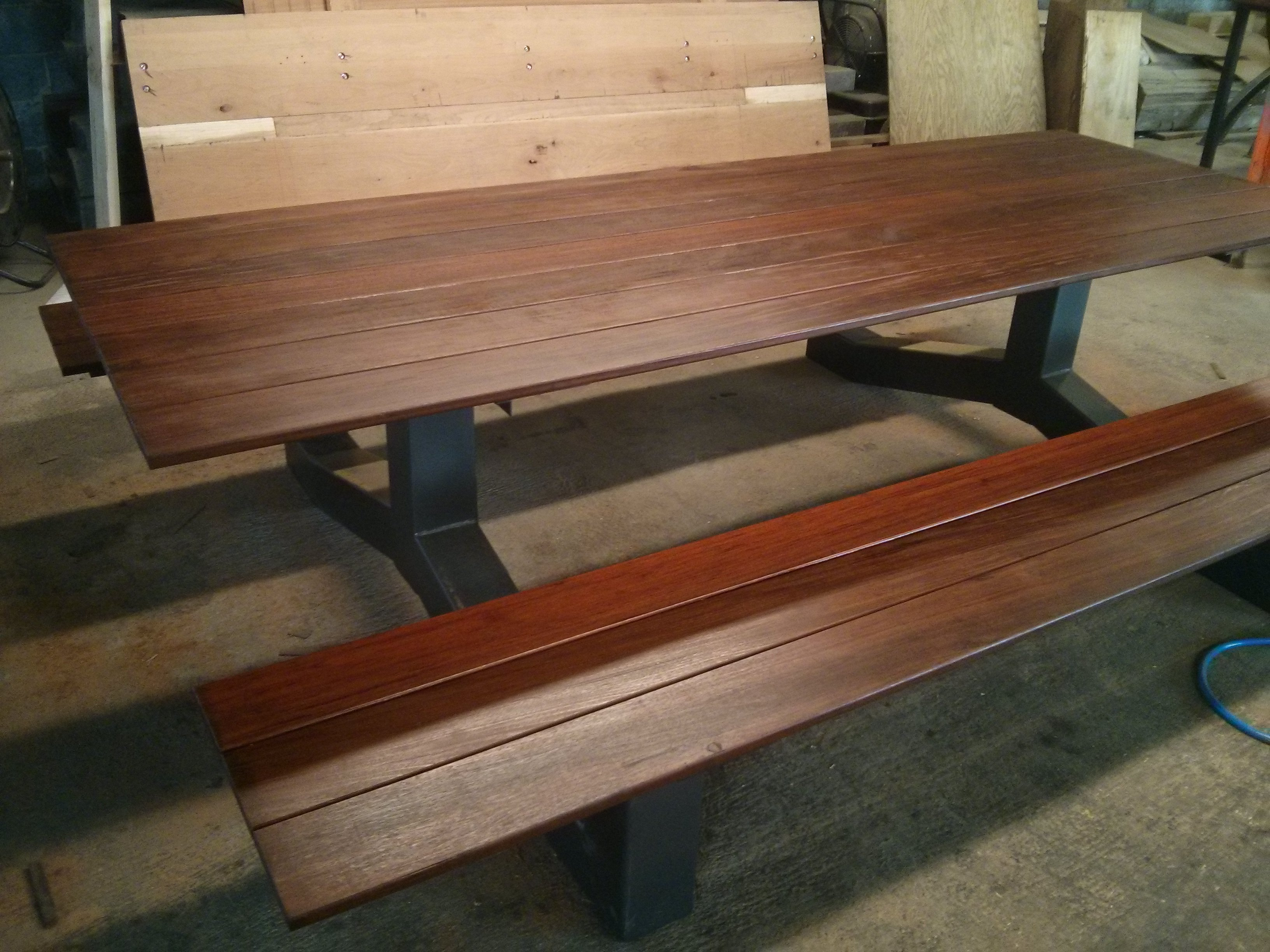 Industrial Picnic Tables Home Design