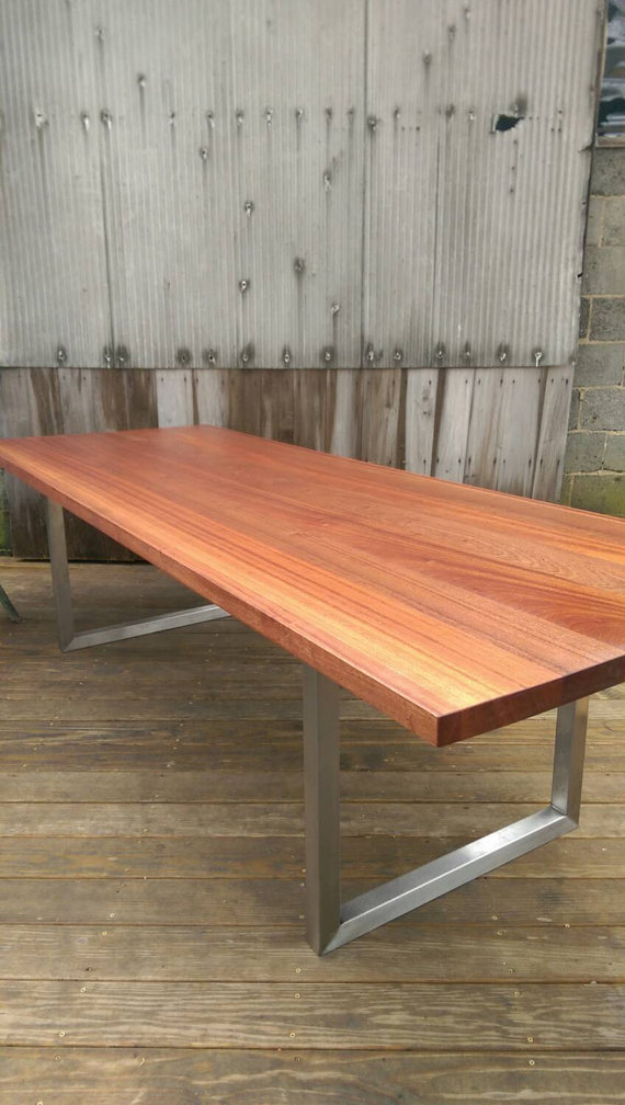 Stainless Steel Modern Minimalist Table The Industrial Farmhouse - 10 ft stainless steel table