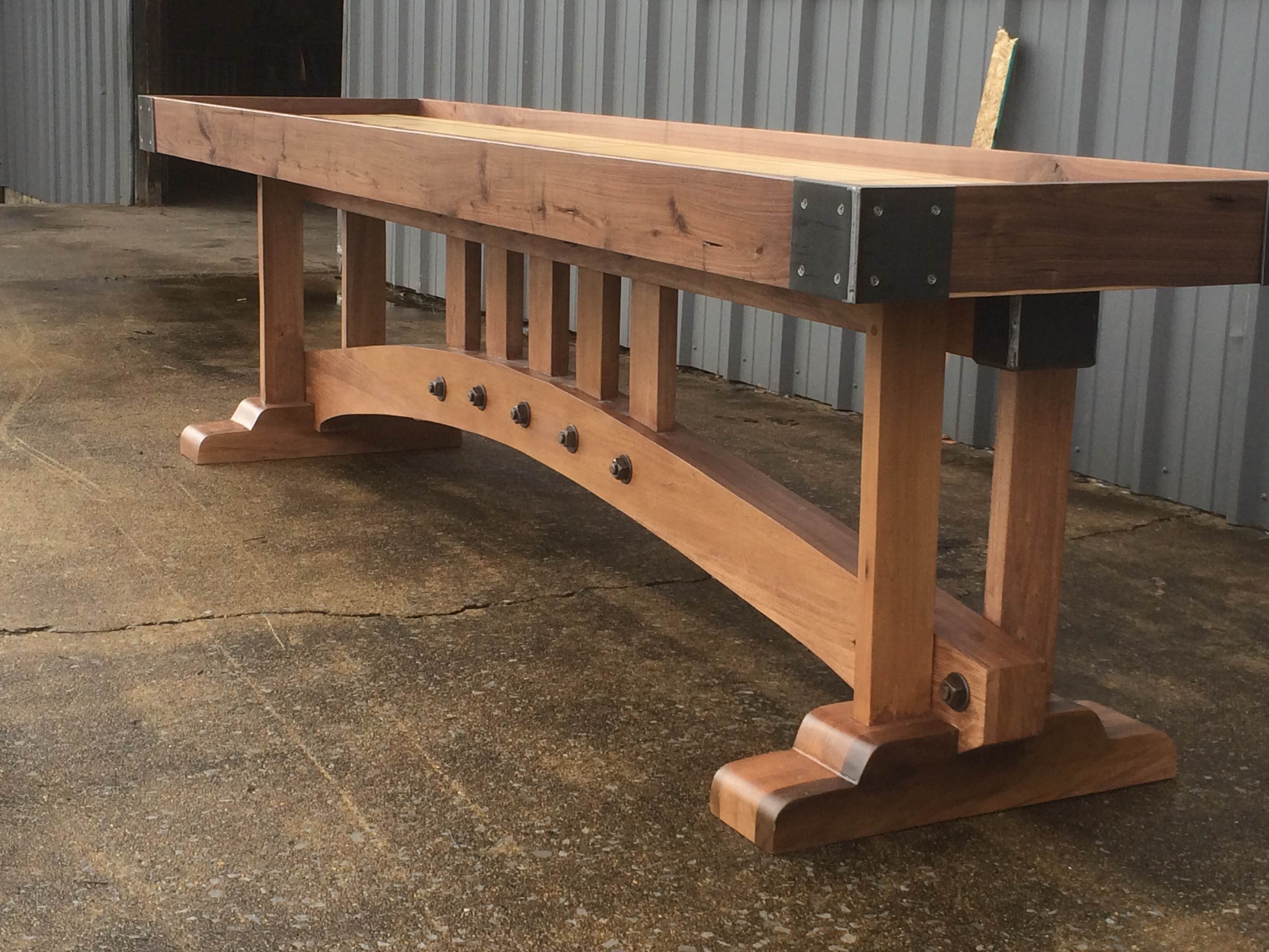 Cost Of Building A Shuffleboard Table Designs