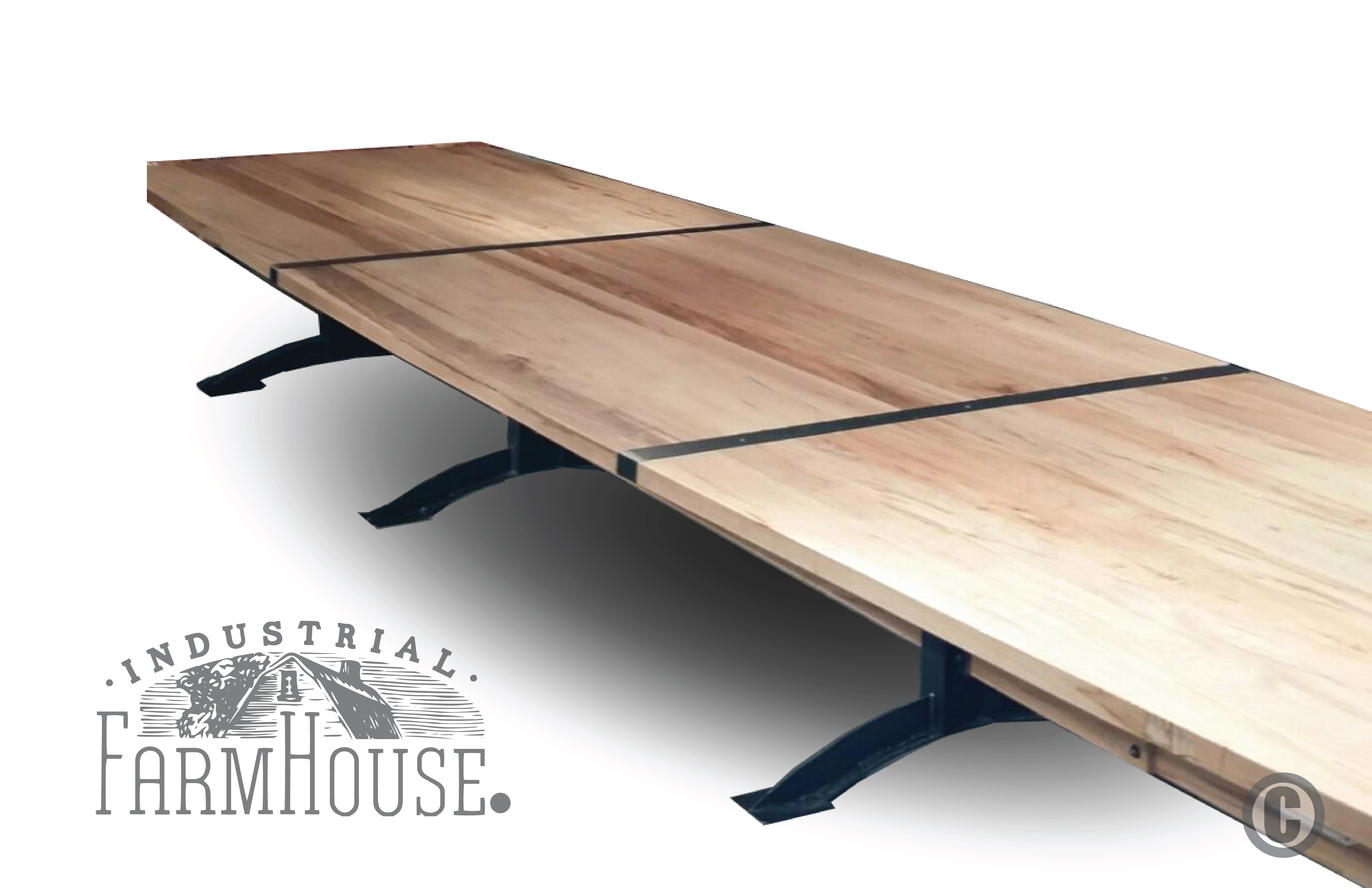 Rustic Minimalist 20 Table With Pratt Base The Industrial Farmhouse