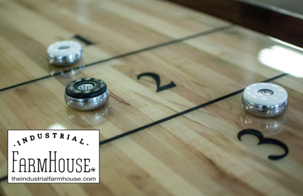 Kirsch Shuffleboard Table Beautifully Handcrafted Surface