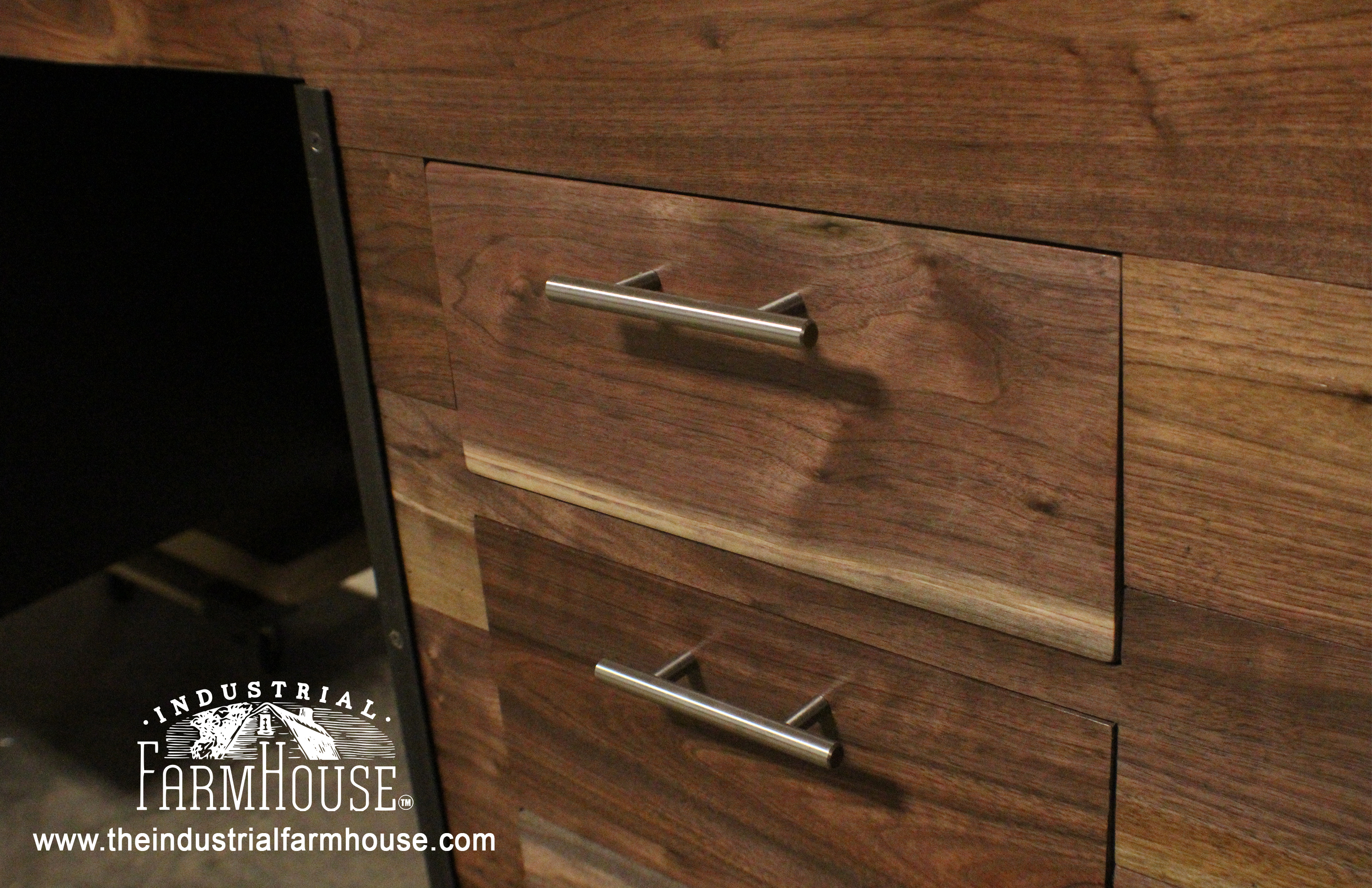 Office Restaurant Black Walnut Drawer Package The